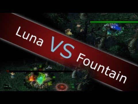 DotA Tricks #1 - Destroy Fountain Solo