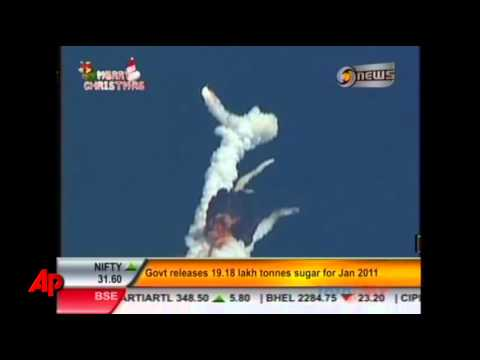 Indian Rocket Explodes Carrying Comms Satellite