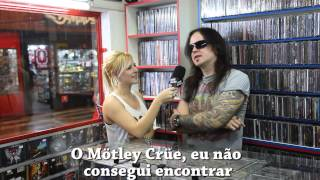 CRASHDÏET Drummer Interviewed In Brazil
