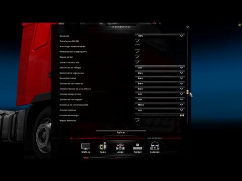 Mejora los graficos mas HD   euro truck simulator 2   Todas las versiones