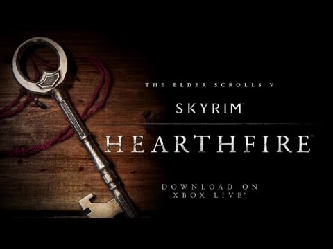 SKYRIM  Hearthfire Start Up Guide -  Wie der DLC Beginnt / DE 1080p