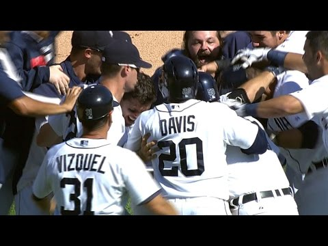 Avila Delivers A Walk-off Single video