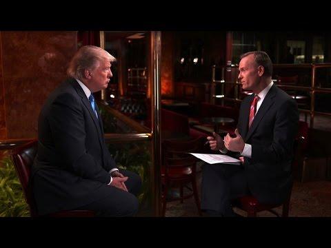 Full interview: Donald Trump, April 3