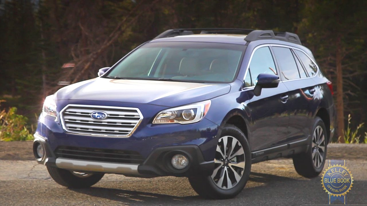 2015 Subaru Outback Review - Kelley Blue Book - YouTube