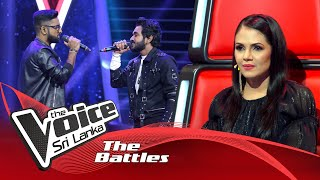 The Battles : Jayod Nawarathne V Vihanga Hiyumal  The Voice Sri Lanka