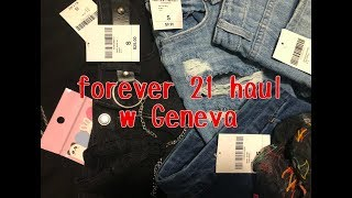 forever 21 haul w Geneva