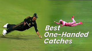 20 Amazing one handed catches in cricket history || Best catches in Cricket