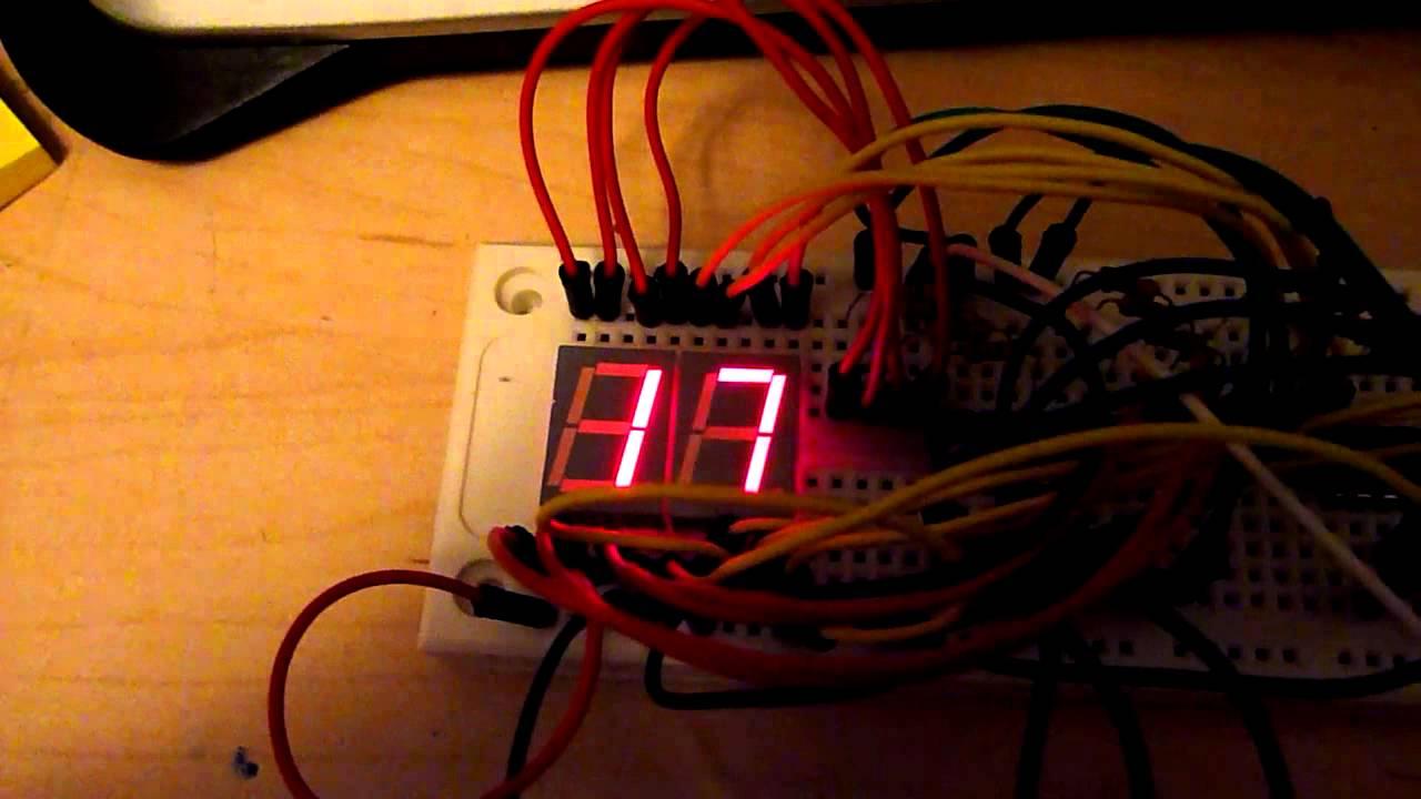 2-Digit 7-Segment Display Counter with Arduino Part 1