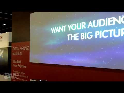 InfoComm 2013: Ricoh Goes Over Its Digital Signage Solution