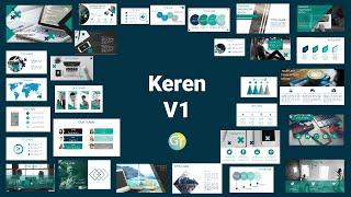 Template Powerpoint Keren  Free Download 40 Slide  Free