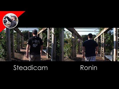 Steadicam vs Ronin Gimbal Shootout