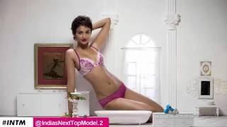 India's Next Top Model season 2 - Episode 5 Lingerie Shoot