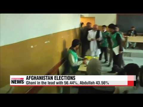 Ghani leads in Afghanistan presidential polls: prelim. count