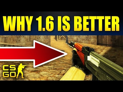 10 Reasons Why CS 1.6 Was Better Than CS:GO