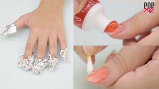 How To Remove Nail Polish & Other Awesome Nail Hacks! - POPxo
