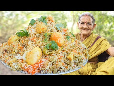 Egg Dum Biryani Recipe || Anda Dum Biryani by My Grandma || Myna Street Food