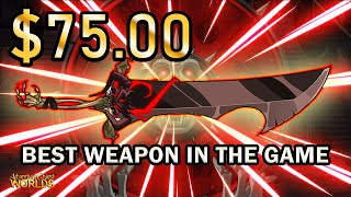 I spent over $75 in AQW to Buy the Best Weapon in the Game (NSoD)