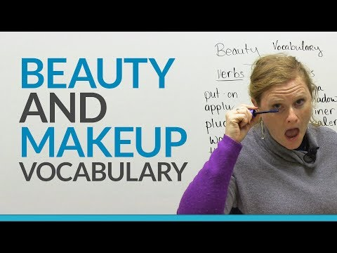 Learn English Vocabulary: Beauty And Makeup video