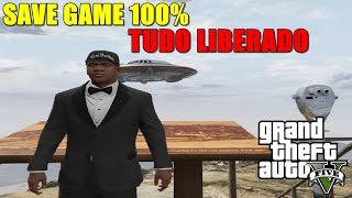 GTA V PC - SAVE GAME 100% TUDO COMPLETO [+DOWNLOAD]