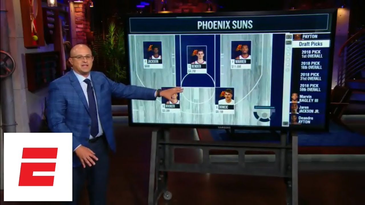 What No. 1 overall pick in 2018 NBA draft means for Phoenix Suns, and who they could take | ESPN