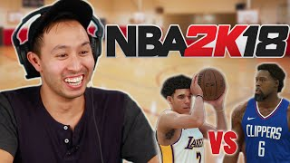 NBA 2K18 • We Settle The Lakers Vs. Clippers Rivalry