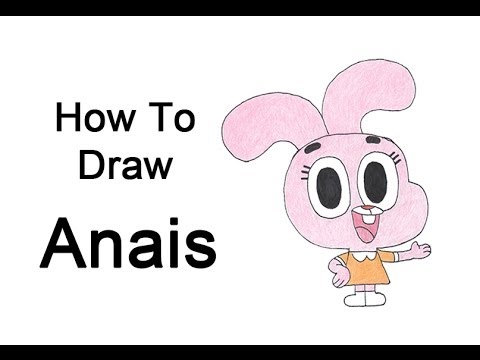 How To Draw Anais From The Amazing World Of Gumball video