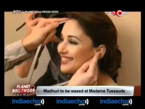 Madhuri To Be Waxed At Madame Tussauds-Indiaecho.com