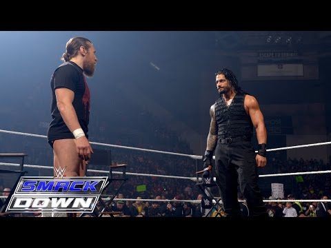 """""""miz Tv"""" With Special Guests Roman Reigns And Daniel Bryan: Smackdown, February 5, 2015 video"""