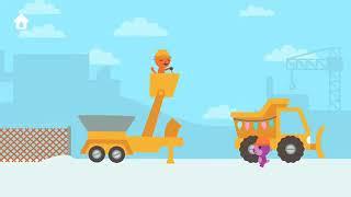 Lái Xe Cần Cẩu Cầu, Máy Xúc Dọn Tuyết - Game Vui Nhộn