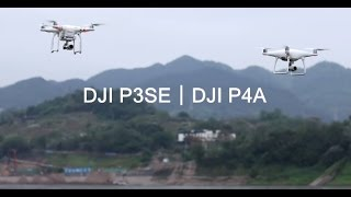 DJI Phantom 4A range test and battery life test VS Phantom 3SE & Mavic Pro #SamiLuo