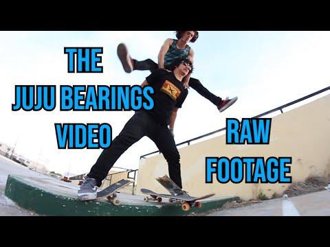 Jason Park, Richie Jackson, Orange Man, William Spencer - The Juju Bearings Video RAW FOOTAGE