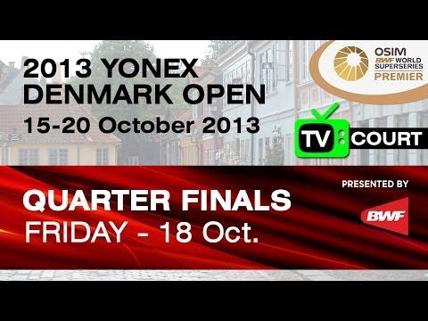 QF (TV Court) - WS - Eriko Hirose vs Ratchanok Intanon - 2013 Yonex Denmark Open
