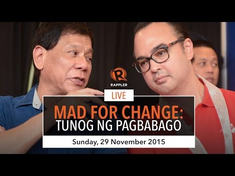 WATCH: Duterte-Cayetano's 'MAD For Change' event