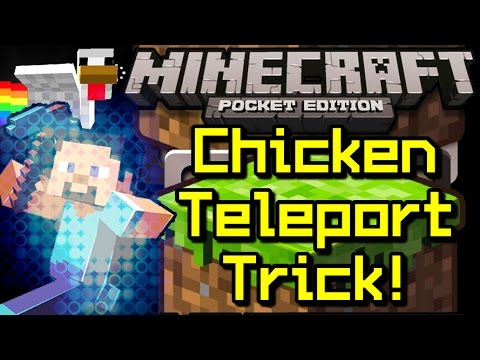 how to cook chicken in minecraft pocket edition