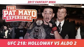 2017 Fantasy MMA: UFC 218 DraftKings Picks & Preview
