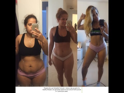 HERBALIFE RESULTS - 40 POUNDS WEIGHT LOSS IN 4 MONTHS!