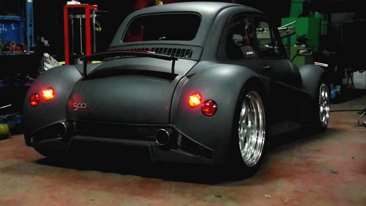 Maxresdefault on Fiat 500 With Lamborghini Engine