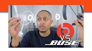 BEATS X VS BOSE QUIET CONTROL 30 - AROUND THE NECK BATTLE