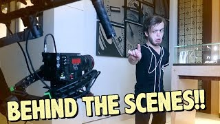 FILMING MY NEW MUSIC VIDEO!!! **LIT**