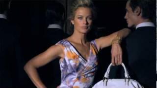 Anne Klein S/S 2010 ft. Carolyn Murphy (Behind The Scenes)