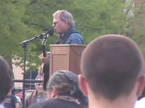 Country Joe McDonald - 40th anniv. Kent State shooting - For What It's Worth