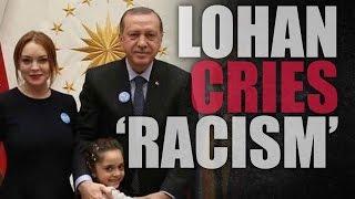 """Lindsay Lohan cries """"racial profiling"""""""