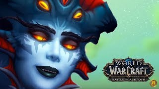 Azshara Raises Nazjatar - All Cinematics [8.2 WoW BFA: Rise of Azshara]