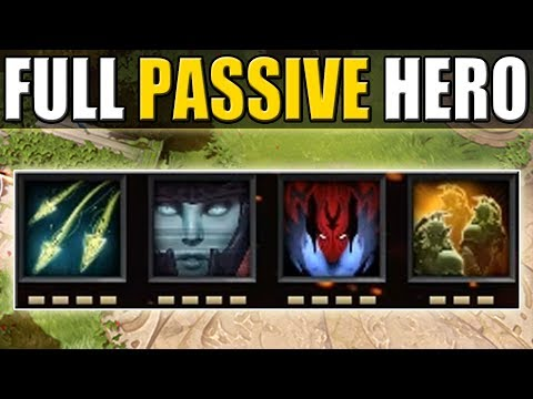 Full Passive 0 Buttons Gameplay [Imba Illusions Spawn] Dota 2 Ability Draft
