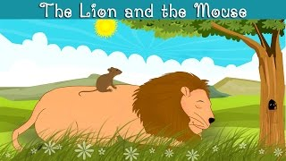 The Lion and the Mouse - kindergarten moral story for kids in English