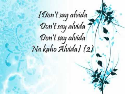 Don t say alvida full song with lyrics   YouTube