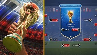 FIFA 18 PREDICTS THE 2018 FIFA WORLD CUP!!! (WORLD CUP MODE)