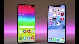 Samsung Galaxy S10 Plus vs iPhone XS Max- test thử coi
