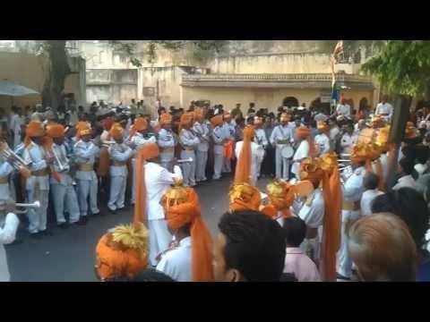 Gangaur Festival 2013, Jaipur | Jea Band & Taj Band