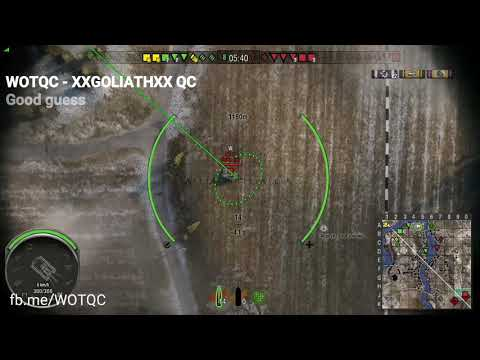 WOTQC - XXGOLIATHXX QC - World of Tanks Xbox - Nice Guess shot